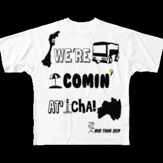 oxoxoxoxoxoのTEAM KONOHEN BUS TOUR 2019 Full graphic T-shirts