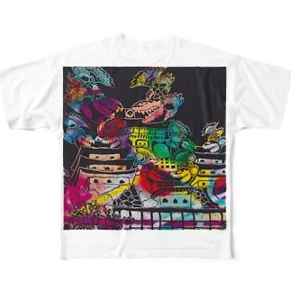 不夜城 Full graphic T-shirts