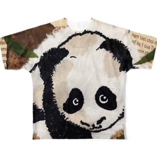 パンぱんだ Full graphic T-shirts