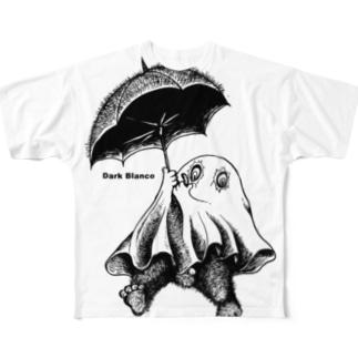 """Dark blanco """"Monster 19"""" Full graphic T-shirts"""