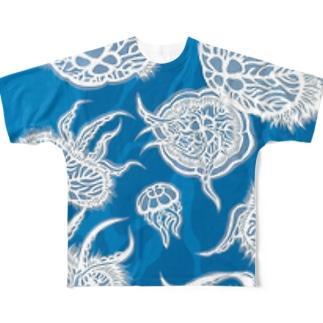 揺蕩 フルグラフィックTシャツ