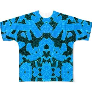 宇宙の煌めき Full graphic T-shirts