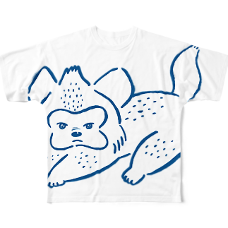 ハイエナズクラブのあおむろひろゆき×ハイエナズクラブ フルグラフィックTシャツ