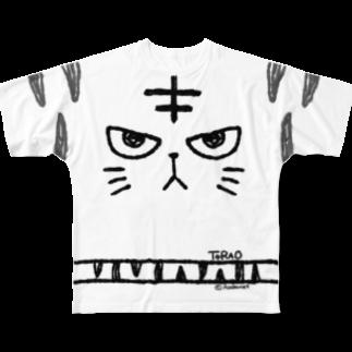 Acabane* Shopのトラオアップ フルグラフィックTシャツ