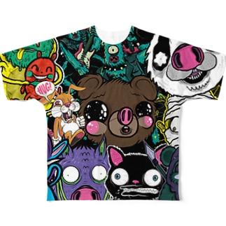 HUG ALL STARS Full graphic T-shirts