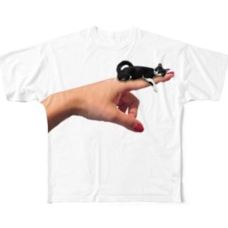 yubi_TEE _col フルグラフィックTシャツ