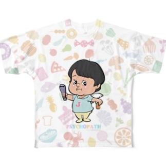 じんじん Full graphic T-shirts