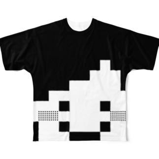 笑ってる。 Full graphic T-shirts