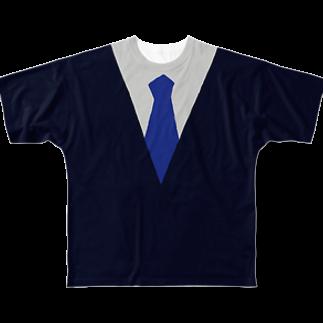 2BRO. 公式グッズストアの2BROなりきりTシャツ ver.兄者 フルグラフィックTシャツ