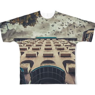 Dream birds T-shirt Full graphic T-shirts