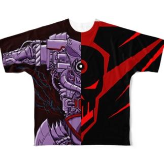 (悪の)サイボーグになろう! フルグラフィックTシャツ