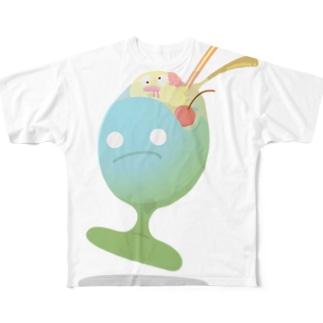 ICECREAM フルグラフィックTシャツ