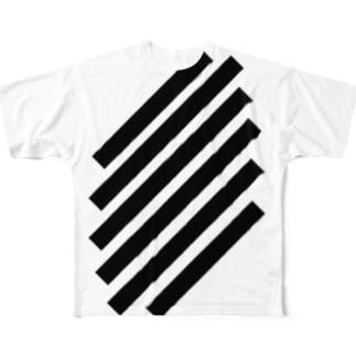 SlashStripes Full graphic T-shirts