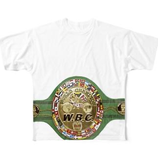 チャンピオンベルト Full graphic T-shirts