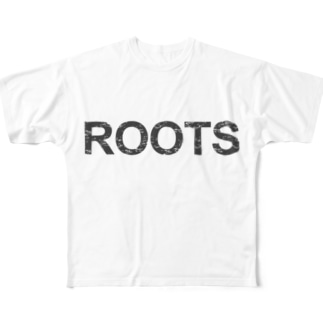 ROOTS公式 Full graphic T-shirts