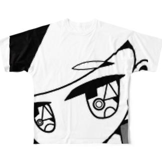 さんかく彼女 Full graphic T-shirts