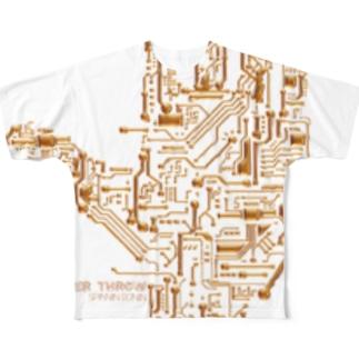 OVER THROW フルグラフィックTシャツ