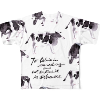 cows Full graphic T-shirts
