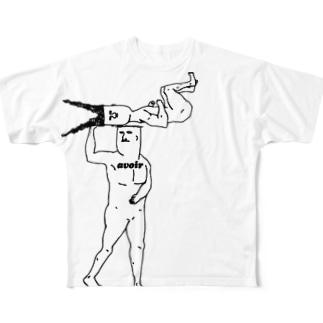 持つ Full graphic T-shirts