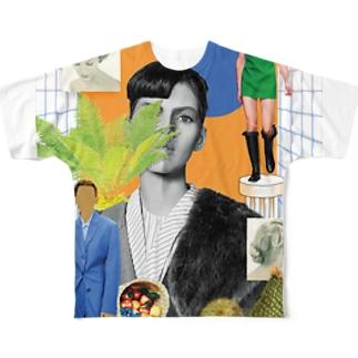 GENDERLESS フルグラフィックTシャツ