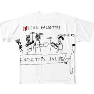 INLIVE! フルグラフィックTシャツ