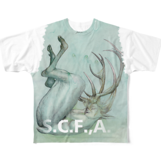 hassegawaのTintin the BuckフルグラフィックTシャツ