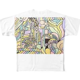 収束と発散 Full graphic T-shirts