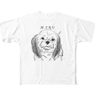まるさん フルグラフィックTシャツ
