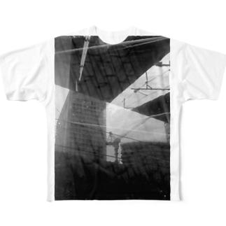 tokyo station フルグラフィックTシャツ
