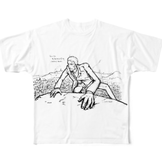 the spy Full graphic T-shirts