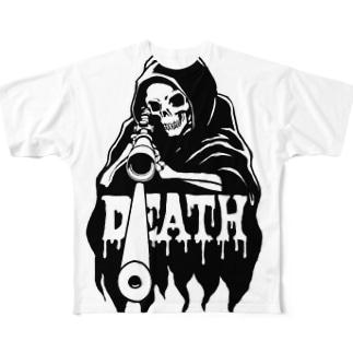 DEADHUNT フルグラフィックTシャツ