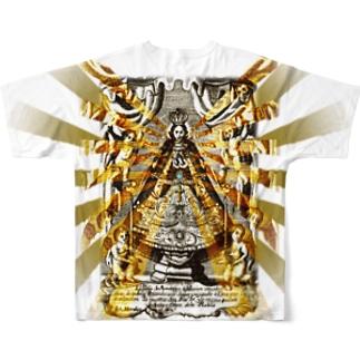 まりあさん Full graphic T-shirts