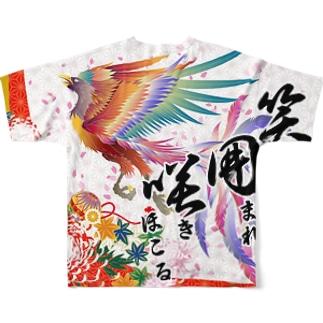 令和元年笑囲咲デザインT Full graphic T-shirts