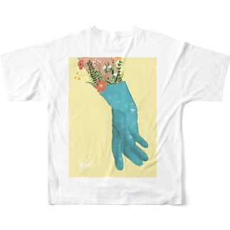 HOPE HAND Full graphic T-shirts