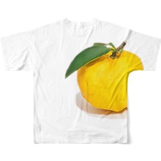 和製ぐれーぷふるーつぽいやつ Full graphic T-shirts