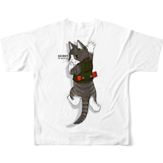 Cat operative Full graphic T-shirts