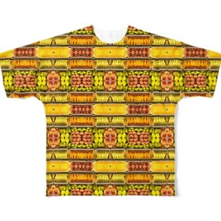 フルーツてんこ盛り Full graphic T-shirts