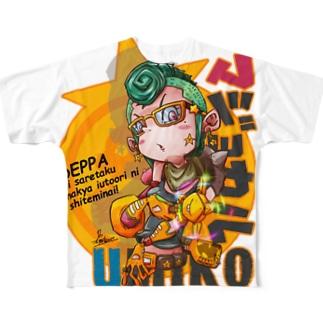マジョカル海子 Full graphic T-shirts