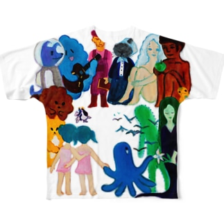 Characters Full graphic T-shirts