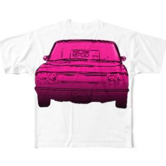 中古車 Full graphic T-shirts
