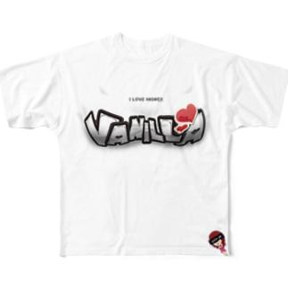 DOKKIRI♥SEXY Full graphic T-shirts