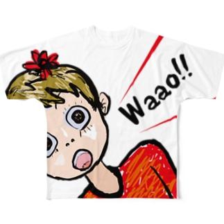 Waao!! Full graphic T-shirts