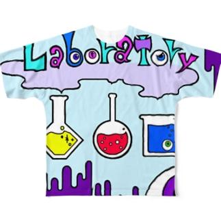 危機的実験室 Full graphic T-shirts