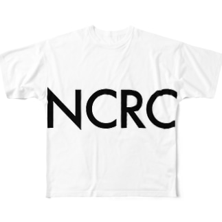 NCRC white Full graphic T-shirts