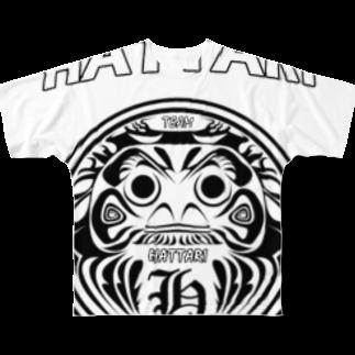 KING-COBRAのHATTARI Full graphic T-shirts