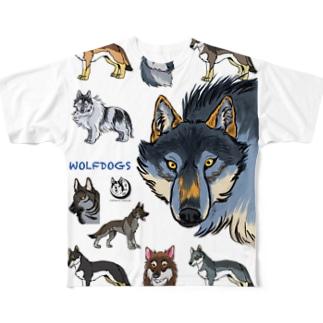 WOLFDOGS Full graphic T-shirts