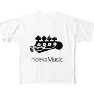 hidekamusic/special UFO edition Tシャツ Full graphic T-shirts