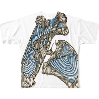 unknown[t] Full graphic T-shirts