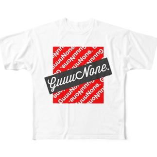 俺のグッズ【GuuuNone.】Tシャツ(デザインロゴVer) Full graphic T-shirts
