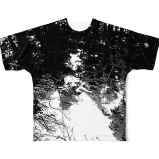 BMBのB_M_B     IN THE FOREST Full graphic T-shirts